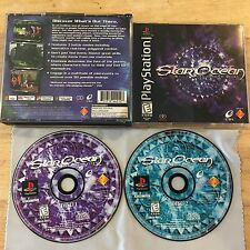 Star Ocean: The Second Story Sony PlayStation 1 2 PS2 PS1 System Game & Box