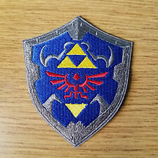 Legend Of Zelda Shield Patch 3 1/2 inches tall