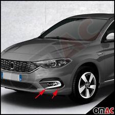 Fiat Tipo Limo Chrom Vorne Nebelscheinwerfer Rahmen Ringe Rahmen Abs ab 2015