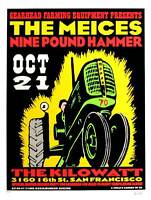 The Meices Concert Poster 1995 Kozik Kilowatt