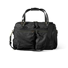 Filson 48 Hour Duffle Bag 70328 Overnight Tin Cloth Carry-on Black 11070328