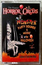 The Original HORROR CIRCUS: MONSTER PARTY SOUNDS & MUSIC for HALLOWEEN! Cassette