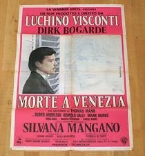 MORTE A VENEZIA manifesto poster Visconti Dirk Bogarde Silvana Mangano Mann