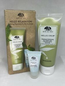 Origins Hello Relaxation Peace of Mind On The Spot Relief Hello Calm Mask Duo