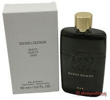Gucci Guilty OUD By Gucci Tster 3.0oz./90ml Edp Spray For Men New In Tstr Box