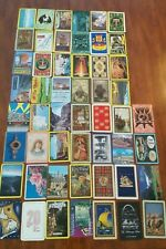 Vintage-Mod Playing Cards 52 Different Cards *Travel* Complete Deck (D)
