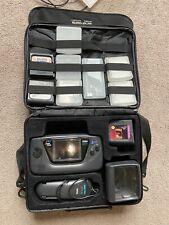 Sega Game Gear Bundle. 9 Games. Case. AC. Magnifier. Mortal Kombat Sonic Columns