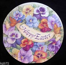 Leanin Tree Easter Greeting Card Butterfly Flowers Multi Color E22