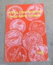 ACC ATLANTIC COAST CONFERENCE SPRING GUIDE - BASEBALL GOLF TRACK LACROSSE - 1958