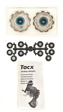 Tacx Jockey Wheels Ceramic Bearings for Shimano 9/10 Speed Rear Derailleurs MTB