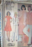 Vintage McCalls SEWING Pattern Jacket Top Skirt Scarf