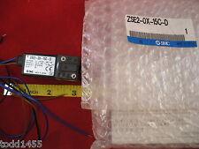 SMC ZSE2-0X-15C-D Vacuum Switch Sensor 0-101kPa 12-24v dc npn 80mA 3-wire New