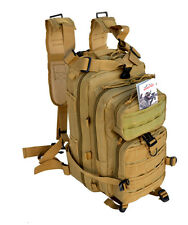 Outdoor Military Tactical Assault Backpack with Molle - Bug-Out-Bag - TAN COLOR