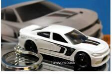 Custom Key chain '15 Dodge Charger SRT Hellcat white