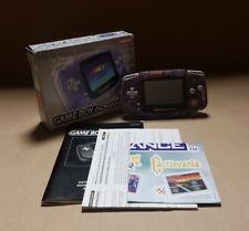 Glacier Clear Purple Nintendo Game Boy Advance (Boxed w/ Inserts) | RETRO