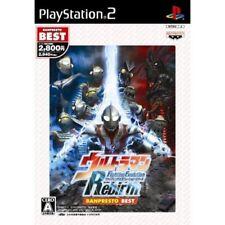 Used PS2 Ultraman Fighting Evolution Rebirth Banpresto Best Japan Import