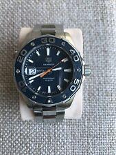 Tag Heuer Aquaracer 500m quartz 43mm mens watch