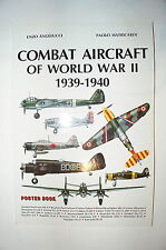 Combat Aircraft of World War II 1939-1940 Poster Book Reference Book
