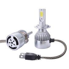 Coppia Lampade A Led Cob Da Auto Fari H7 36W 3800 Lumens 6000K