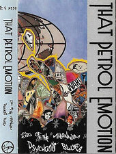 That Petrol Emotion End Of The Millennium Psychosis CASSETTE ALBUM Rock Indie