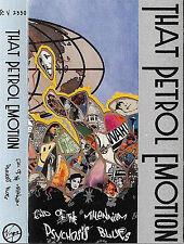 That Petrol Emotion End Of The Millennium Psychosis CASSETTE ALBUM Rock Indie