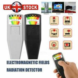 LED EMF Meter Magnetic Field Detector Ghost Hunting Paranormal Equipment Tool UK