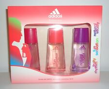 (100ml=14,33€) Adidas EDT Set fruity rhythm fun sensation natural vitality