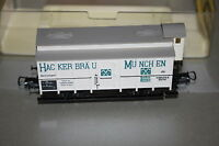 Trix 3618 2-Achser Bierwagen Hackerbäu München Spur H0 OVP