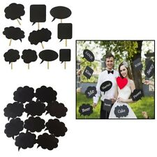 10pcs Sprache Kreide Brett Fotostand Requisiten Bubble Fotografie Hochzeitsparty