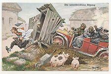 Arthur Thiele Ak Die unterbrochene Sitzung Humor Scherz um 1910 ! (A1712