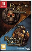 Baldur's Gate 1+2 Enhanced edition SWITCH (Beamdog Collection) neuf sous blister