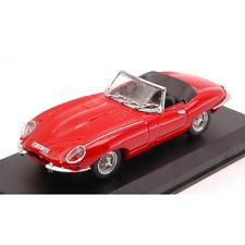 JAGUAR E TYPE SPYDER 1962 RED 1:43 Best Model Auto Stradali Die Cast Modellino