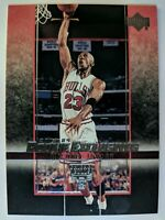 2003 03-04 Upper Deck Rookie Exclusives Michael Jordan #60, Chicago Bulls, HOF