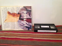 L'otage  version pre-montage Vhs tape & sleeve FRENCH VERY RARE