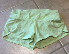 EUC Ivivva (Lululemon Girls) Size 6 Speedy Speed Short Yellow Green