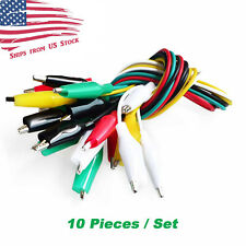 Test Lead Set With Alligator Clips 10 Pieces And 5 Colors 205 Inches 52cm Us