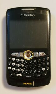 UNTESTED BlackBerry Curve 8350i - Black (Sprint/NEXTEL) Smartphone Cell Phone