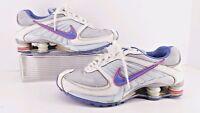 Nike Shox Turbo 8,  Blue & White Youth Athletic shoes.  Size 6.5 Y