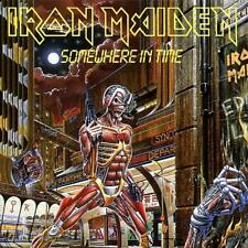 Iron Maiden CD Somewhere in Time EMI Capitol CDP 7 46341 2 D 101962 Heavy Metal