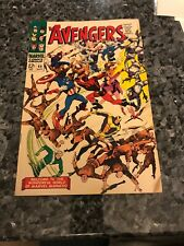 Avengers #44 PArtial Origin Of Black Widow And Origin And Death Of Red Guardian!