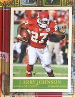 Larry Johnson Kansas City Chiefs Super Bowl Champs! 2009 Upper Deck!