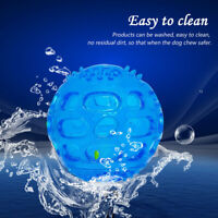 Aggressive Chew Toy for Large Dog Indestructible Rubber Floating Squeaky Balls