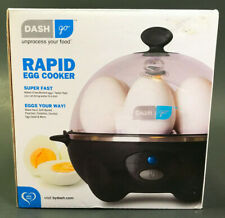 Dash go Rapid 6 Capacity Electric Rapid Egg Cooker NEW UNUSED