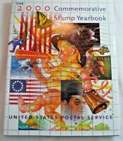 2000 Commemorative Stamp Yearbook USPS Souvenir Mint Set Album with Stamps