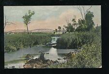 Australia ROCKHAMPTON Alexandre Bridge c1910/20s? PPC