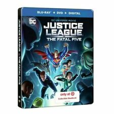 Film in DVD e Blu-ray edizione steelbook Justice League
