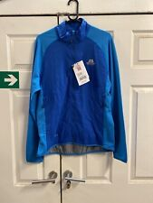 MENS MOUNTAIN EQUIPMENT SWITCH JACKET, SIZE L, BLUE, RRP £130.00.