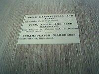 ephemera 1902 advert tunbridge wells c timberlake cycle manufacturer