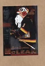 kirk mclean vancouver canucks 1997/98 pinnacle inside 60 coaches collection