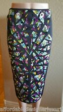 Nicole Miller Black Embellished Pencil Skirt Sz 4  Retail $695